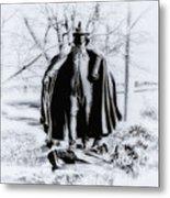 Quaker Pilgrim Metal Print