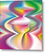Quantum Landscape 3 Metal Print