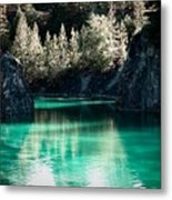 Quarry Waters Metal Print