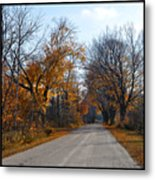 Quarterline Road Metal Print