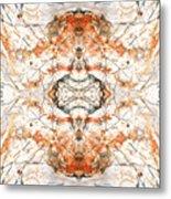 Quartz And Pyrite Metal Print