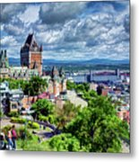 Quebec City Overlook Metal Print