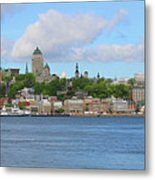 Quebec City Waterfront  6320 Metal Print