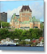 Quebec City Waterfront 6324 Metal Print