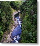 Quechee Gorge In Vermont Metal Print