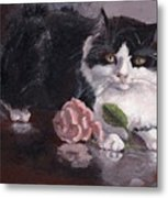 Queen For A Day Metal Print by Elizabeth Lane