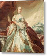 Queen Juliane Marie Of Denmark Metal Print
