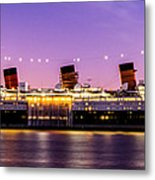 Queen Mary At Dusk_pano Metal Print