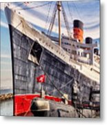 Queen Mary Ghost Ship Metal Print