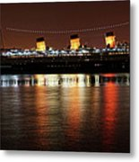 Queen Mary Panorama  Metal Print