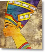 Queen Of Ancient Egypt Metal Print