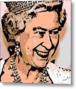 Queen Of Diamonds Metal Print