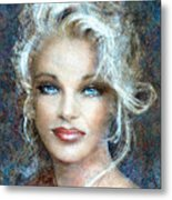 Queen Of Glamour Bright Metal Print
