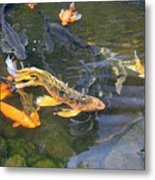 Queen Of The Pond Metal Print