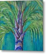 Queen Palm Metal Print