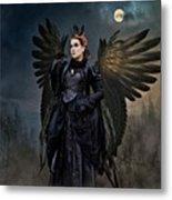 Queen Raven Metal Print