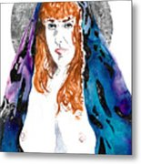 Queen Sof The Universe  Metal Print