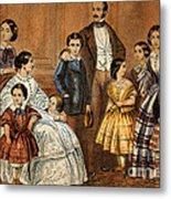Queen Victoria, Prince Albert Metal Print