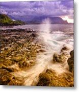 Queen's Bath Princeville Kauai 2015 Metal Print