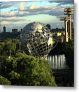 Queens New York City - Unisphere Metal Print