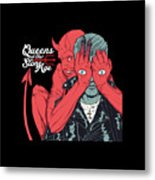 Queens Of The Stone Age Metal Print