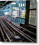 Queens Rails Metal Print