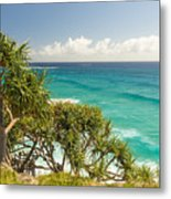 Queensland Coastline Metal Print