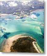 Queensland Island Bay Landscape Metal Print