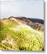Queenstown Tasmania Wide Mountain Landscape Metal Print