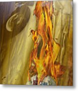Quenching Fire Metal Print