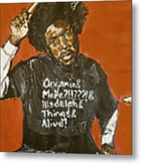 Questlove Metal Print