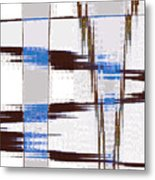 Quiet Abstract Metal Print