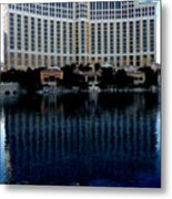 Quiet Bellagio Metal Print