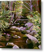 Quiet Brook Metal Print