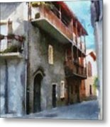 Quiet In Almenno San Salvatore Metal Print