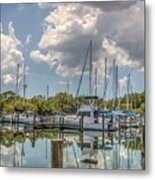 Quiet Marina Metal Print