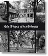 Quiet New Orleans Metal Print