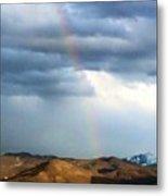 Quiet Rainbow Metal Print