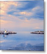 Quiet Sea Metal Print