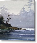 Quiet Shore Metal Print