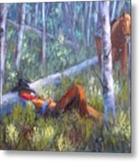 Quiet Siesta Metal Print