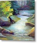 Quiet Stream Metal Print