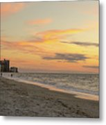 Quiet Time At The Beach Metal Print