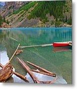 Moraine Lake I, Alberta Metal Print