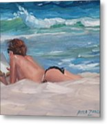 Quiet Time Two Metal Print