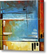 Quiet Whispers By Madart Metal Print by Megan Duncanson