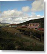Quilatoa Village Metal Print