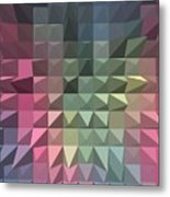 Quilt Metal Print