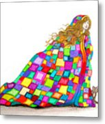Quilted Dreams Metal Print