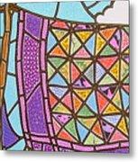 Quilts Online Metal Print